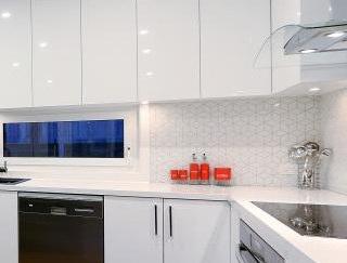 interior-design-mornington-peninsula-kitchen tiled splash back