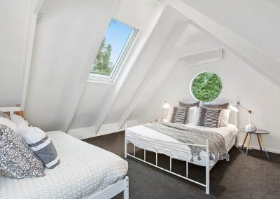 interior-design-mornington-peninsula-the loft bedroom